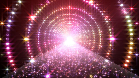 Disco Tunnel 3 C1BC1 HD Stock Video Footage