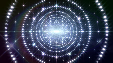 Disco Tunnel 3 C1BS1 HD Stock Video Footage