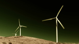 Wind Power 0202 HD-NTSC-PAL Stock Video Footage