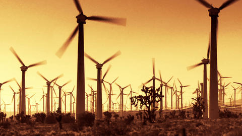 Wind Power 0204 HD-NTSC-PAL Stock Video Footage