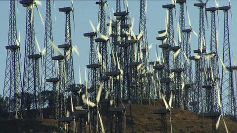 Wind Power 0206 HD-NTSC-PAL Stock Video Footage