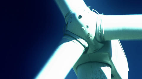 Wind Power 0208 HD-NTSC-PAL Stock Video Footage