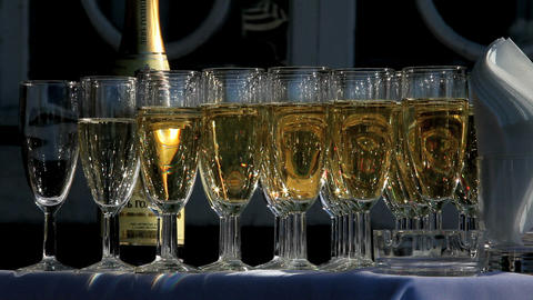 champagne Stock Video Footage