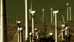 Wind Power 0211 HD-NTSC-PAL Stock Video Footage