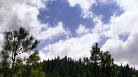 Clouds 1105 HD-NTSC-PAL Stock Video Footage