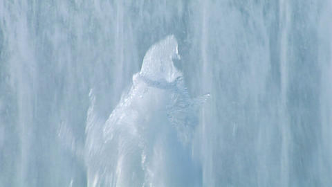 water wall 02 Stock Video Footage