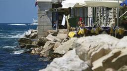 Croatian coastline Stock Video Footage