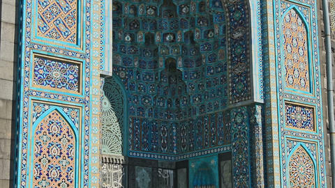 Saint Petersburg Mosque, famous place Footage