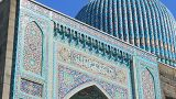 Saint Petersburg Mosque, Famous Place stock footage