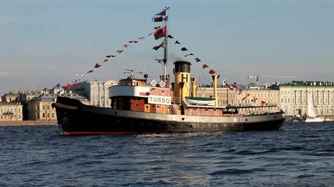 steamship Footage