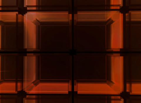 3D Red Cube Background Stock Video Footage