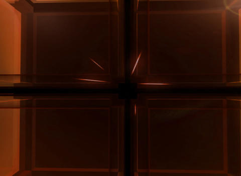3D Red Cube Background Animation