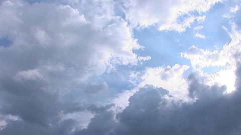 sky pan 2 Stock Video Footage