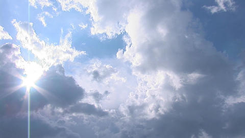 sky pan 2 Footage