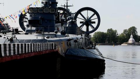 warship Stock Video Footage