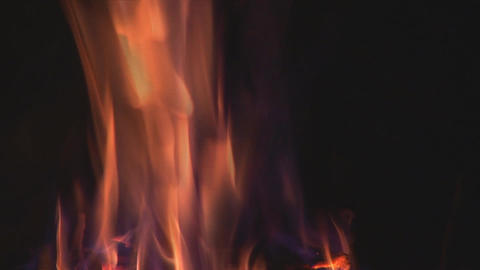 camp fire 9 Stock Video Footage