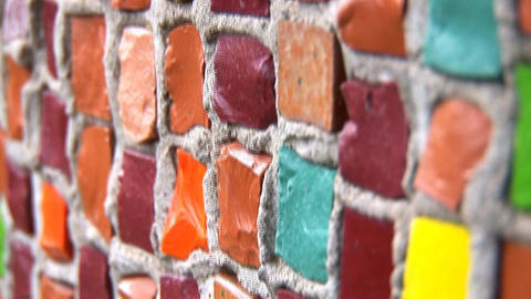 mosaic 1 Stock Video Footage