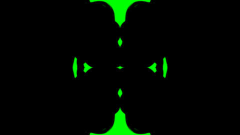 Ink in Water green screen Stock Video Footage