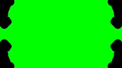 Ink in Water green screen Stock Video Footage