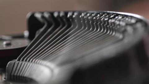 CU Typewriter Footage