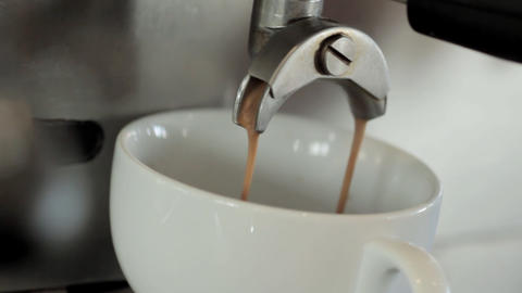 Espresso Machine Stock Video Footage