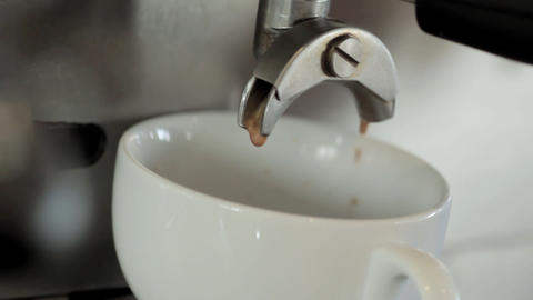Espresso Machine Stock Video Footage