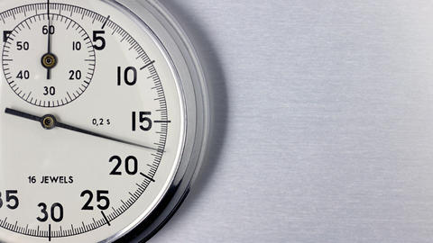 Stopwatch Timelapse Stock Video Footage