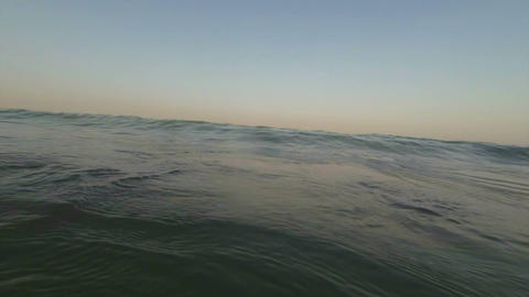 Sea Wave Flooded The Camcorder stock footage