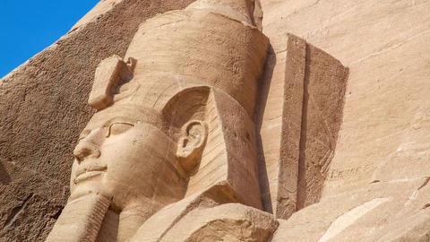 Abu Simbel Stock Video Footage