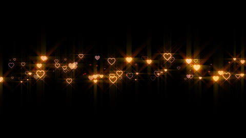 heart particle line Animation