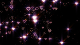 Heart Particle stock footage