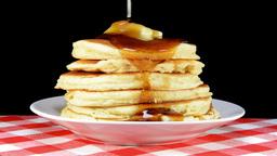 VID 204 pancakes hd Footage