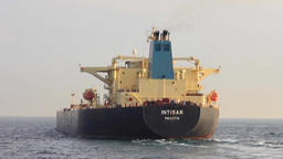 Crude Oil Tanker Ship Footage