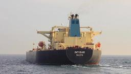 Crude Oil Tanker Ship Footage
