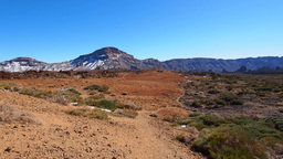 Teide National Park, Canary Islands, Spain Footage