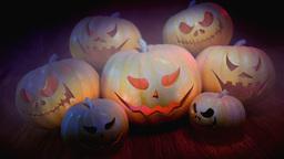 Halloween Pumpkins Animation