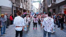 Carnival in Santa Cruz de La Palma Footage
