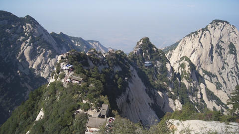 Huashan mountains landscape Footage