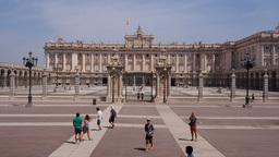 Palacio Real – Royal Palace in Madrid Footage