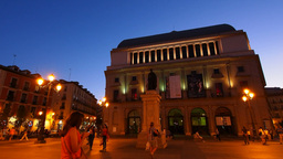 Teatro Real – Royal Theatre, Opera in Madrid Footage