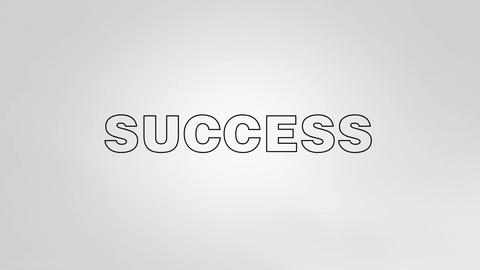 Three Steps to Success 2 Stock Video Footage