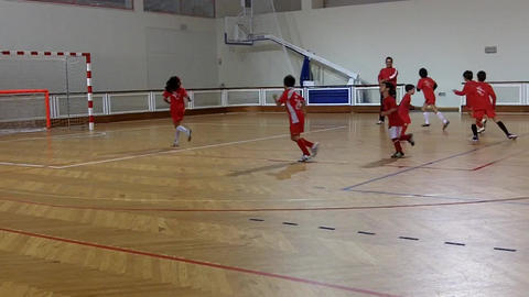 kids Warm Up indoor Footage