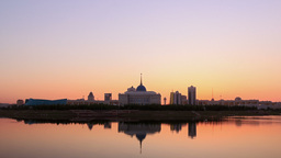 Presidential Palace. Astana, Kazakhstan stock footage