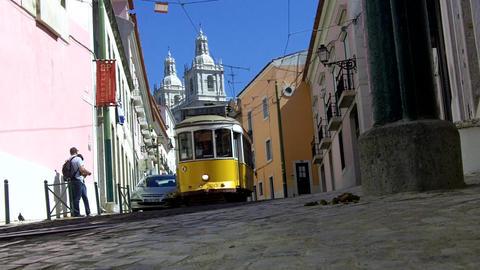 Lisbon Tram Live Action