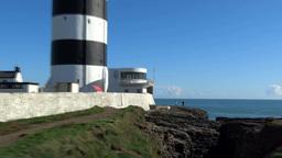 Hook Lighthouse Footage