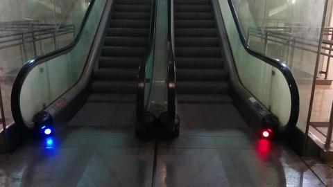 Lisbon Metropolitan Escalator Live Action