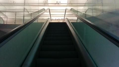 Lisbon Subway Escalator POV Footage
