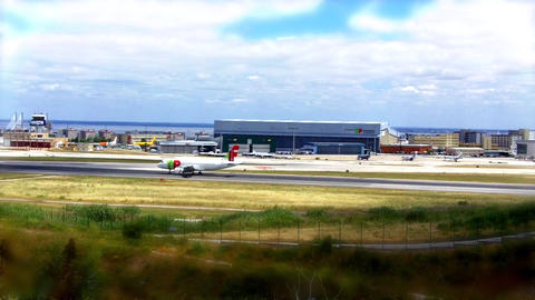TAP Plane Landed in Lisbon ビデオ