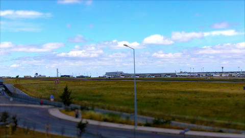 Tap Plane Landing in Lisbon ビデオ