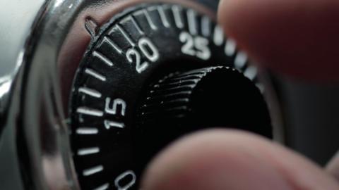 Combination Lock Stock Video Footage